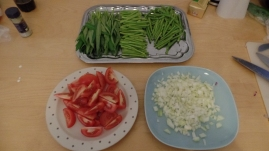 Some ingredients for the sinigang